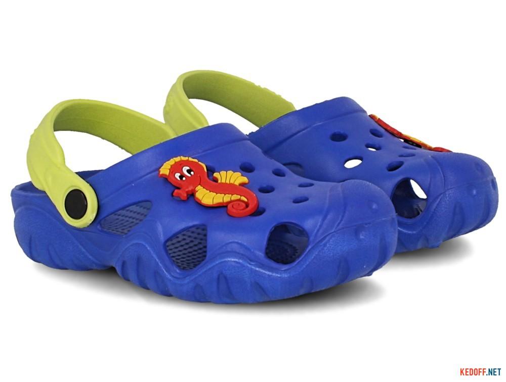 Оригинальные Детские кроксы Jose Amorales 117071   (синий)