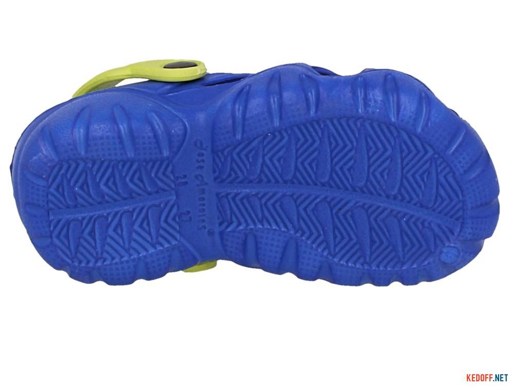 Детские кроксы Jose Amorales 117071   (синий) описание