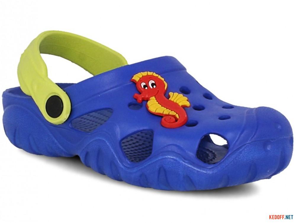 Купить Детские кроксы Jose Amorales 117071   (синий)