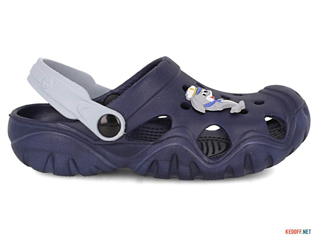 Кроксы Jose Amorales 117085 унисекс   (синий/серый) купить Украина