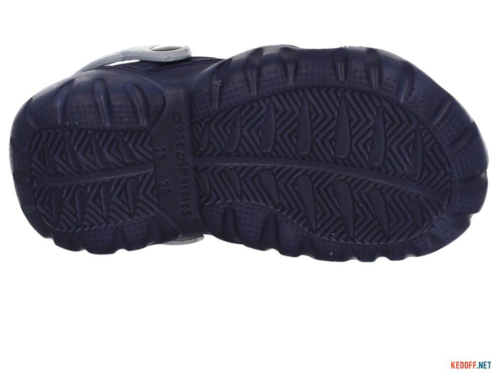 Кроксы Jose Amorales 117085 унисекс   (синий/серый) описание