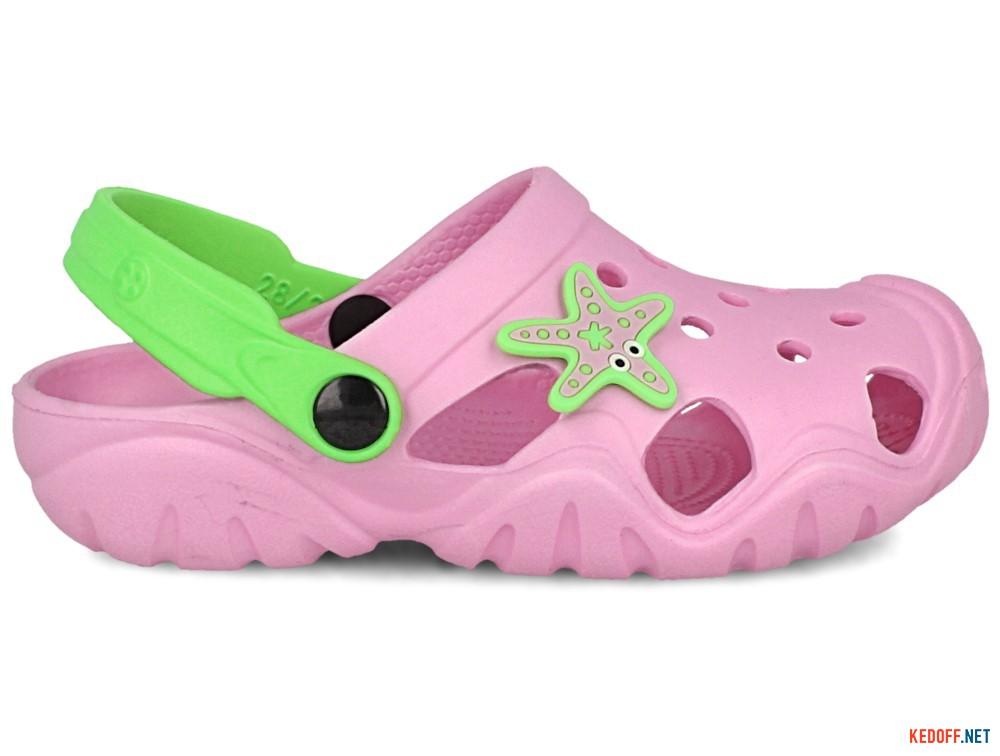 Детские кроксы Jose Amorales Pink Star 117082   (розовый) купить Украина