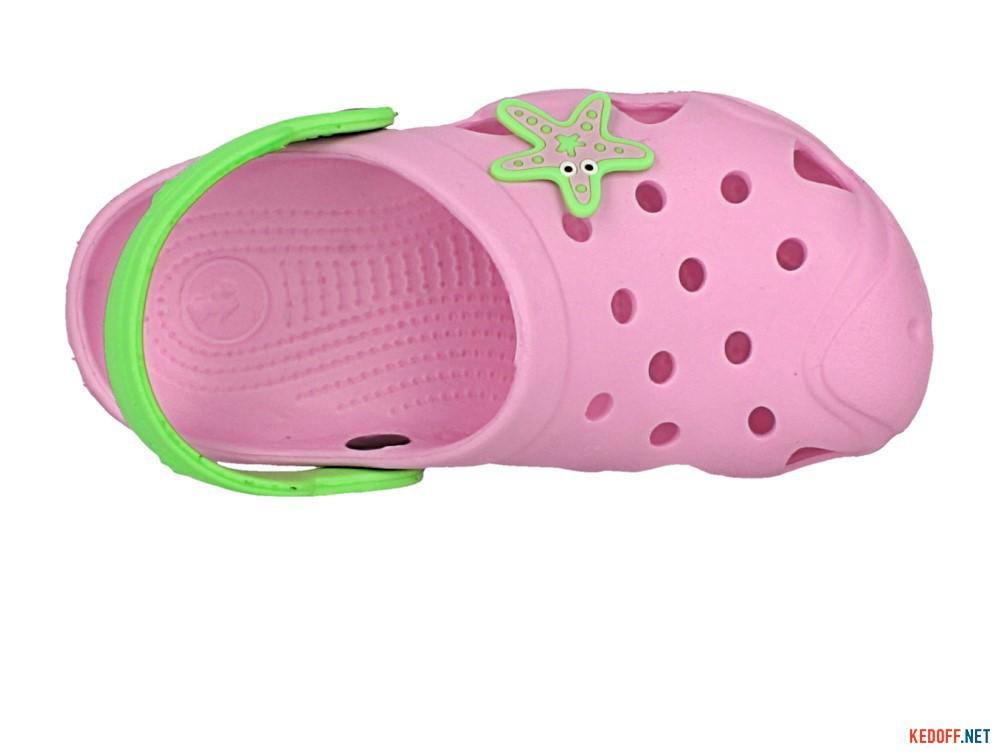 Детские кроксы Jose Amorales Pink Star 117082   (розовый) описание