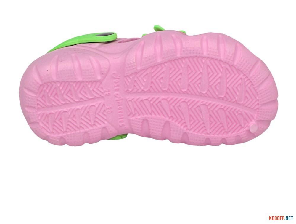 Цены на Детские кроксы Jose Amorales Pink Star 117082   (розовый)