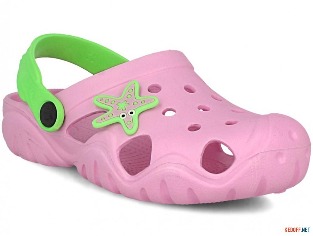 Купить Детские кроксы Jose Amorales Pink Star 117082   (розовый)