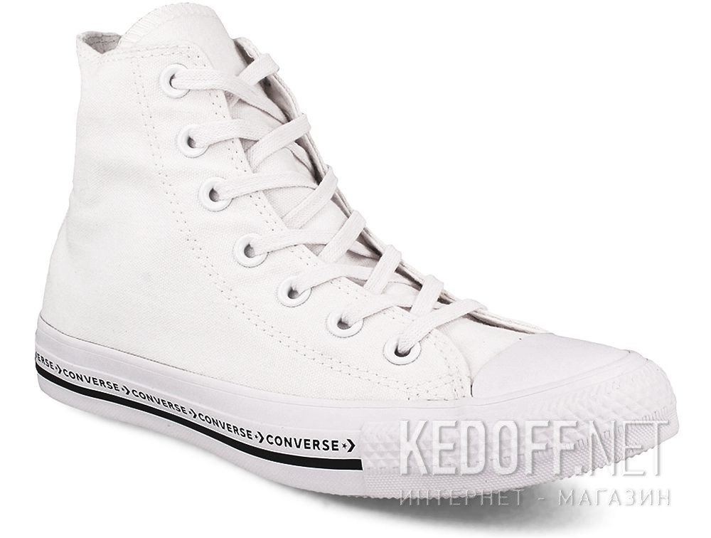 Купить Кеды Белые Converse Chuck Taylor All Star Hi 159586C
