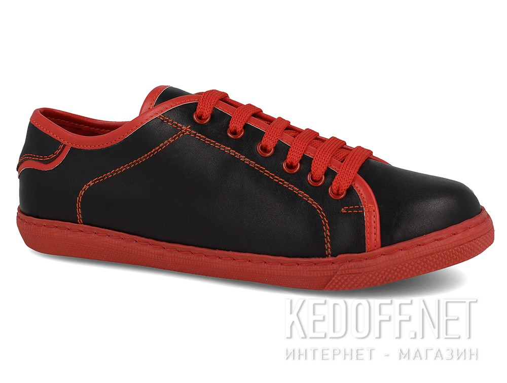 Кеди Black Red Smith Las Espadrillas 20324-2747