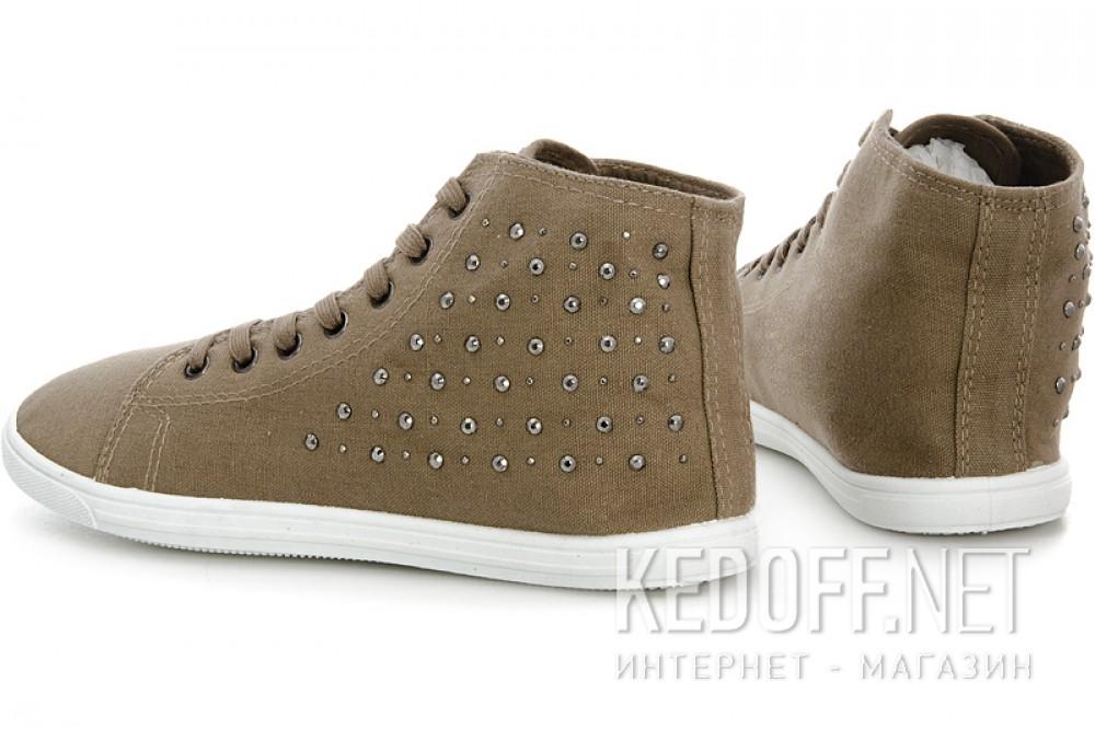 Женские кеды Las Espadrillas 002-1   (светло-коричневый) купить Киев