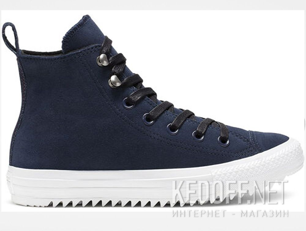 Кеди Converse Chuck Taylor All Star Hiker High Top 565237C Navy Nubuk купити Україна