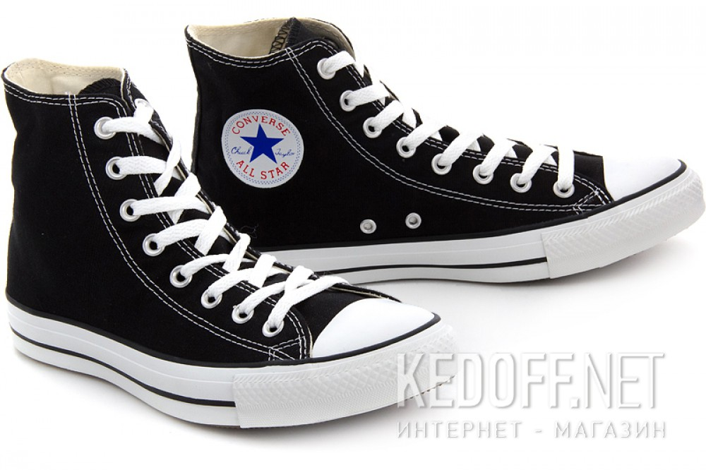 Цены на Кеды Converse Chuck Taylor All Star Hi M9160 унисекс   (чёрный)