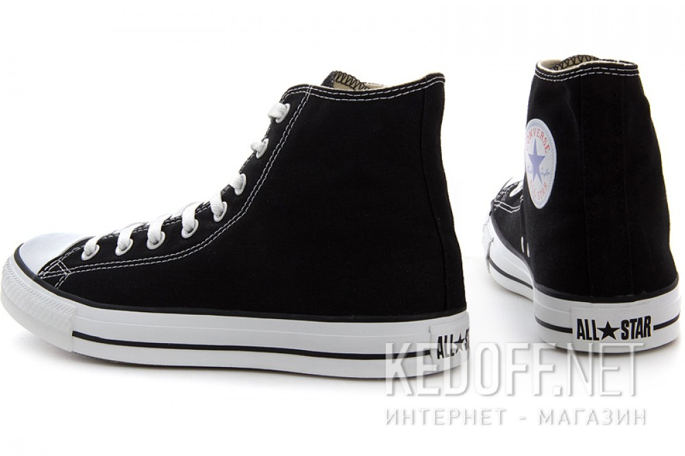5172bcc9bad8 Converse sneakers Chuck Taylor All Star Hi M9160 unisex (Black) все размеры
