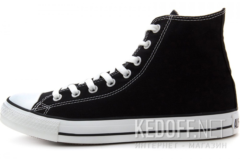 Доставка Кеды Converse Chuck Taylor All Star Hi M9160 унисекс   (чёрный)