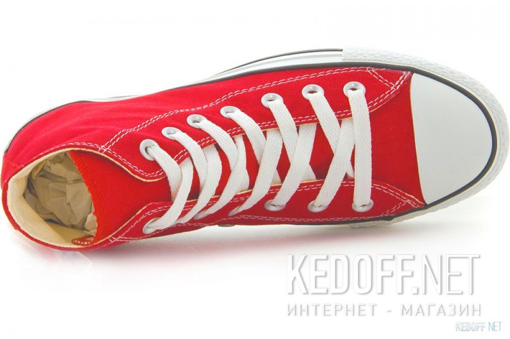 Цены на Кеды Converse Chuck Taylor All Star Hi M9621 унисекс   (красный)
