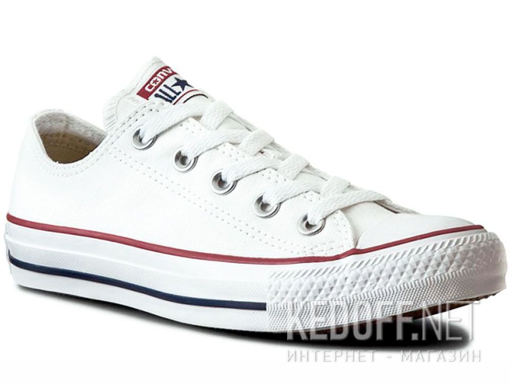 Купить Кеды Converse Chuck Taylor All Star Classic Low Optical White M7652C унисекс   (белый)