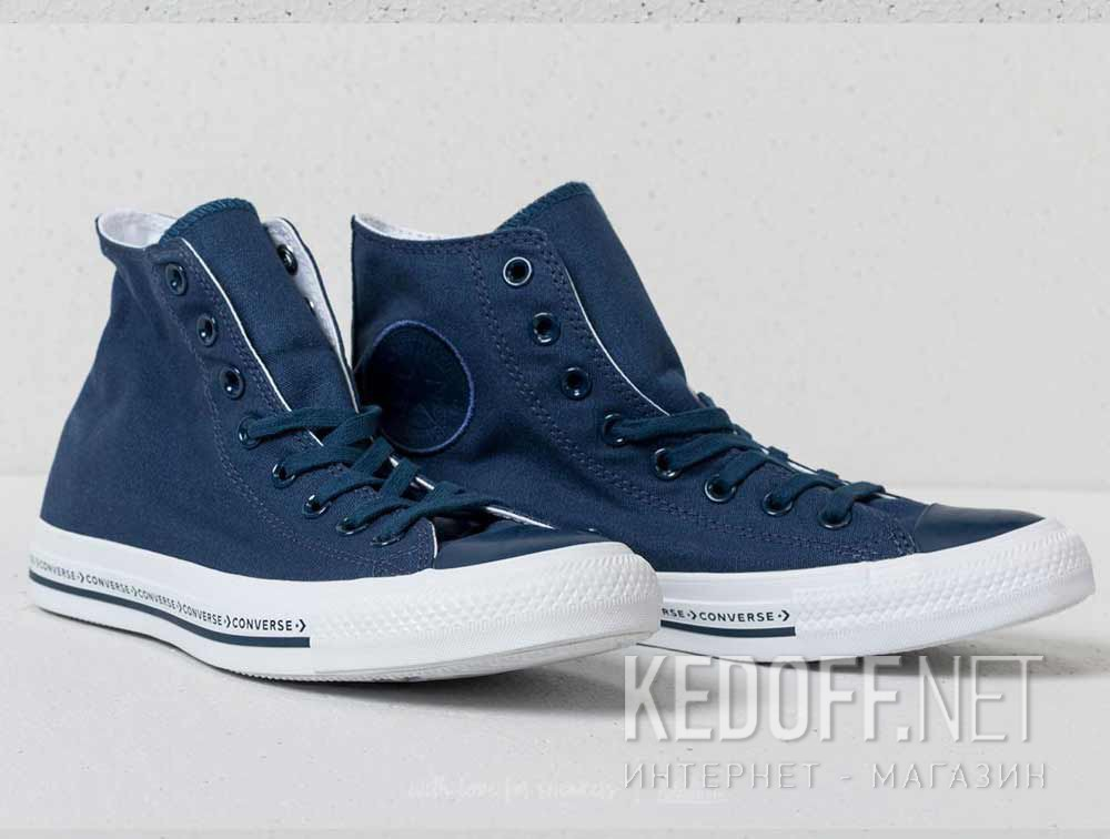 8c5f6f66ade9 Shop Converse sneakers Chuck Taylor All Star Hi Blue 159585C at ...