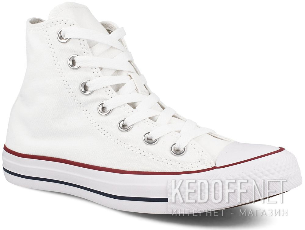 Купить Кеды Converse Chuck Taylor All Star Hi Optical White M7650 унисекс   (белый)