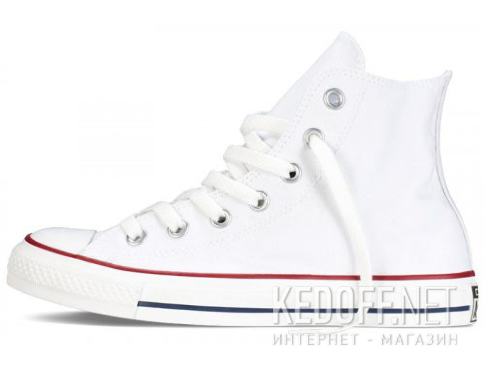 Кеды Converse Chuck Taylor All Star Hi Optical White M7650 унисекс   (белый) купить Киев