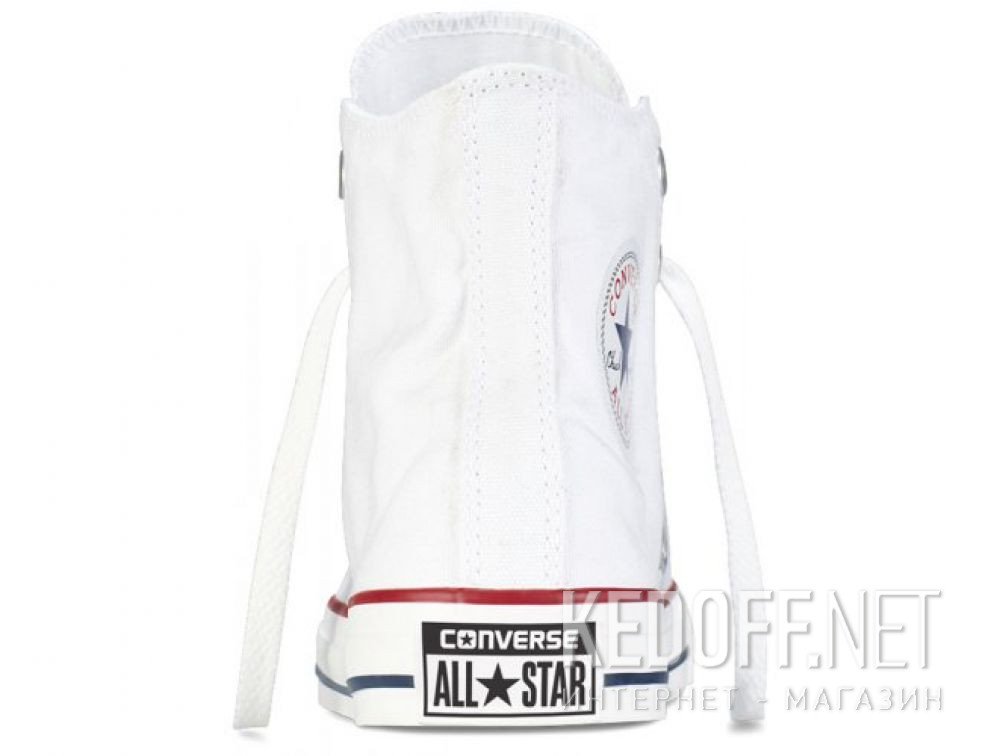 Оригинальные Кеды Converse Chuck Taylor All Star Hi Optical White M7650 унисекс   (белый)