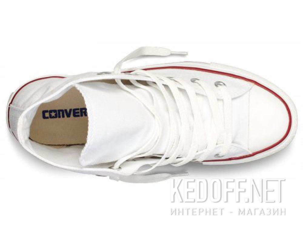 Цены на Кеды Converse Chuck Taylor All Star Hi Optical White M7650 унисекс   (белый)