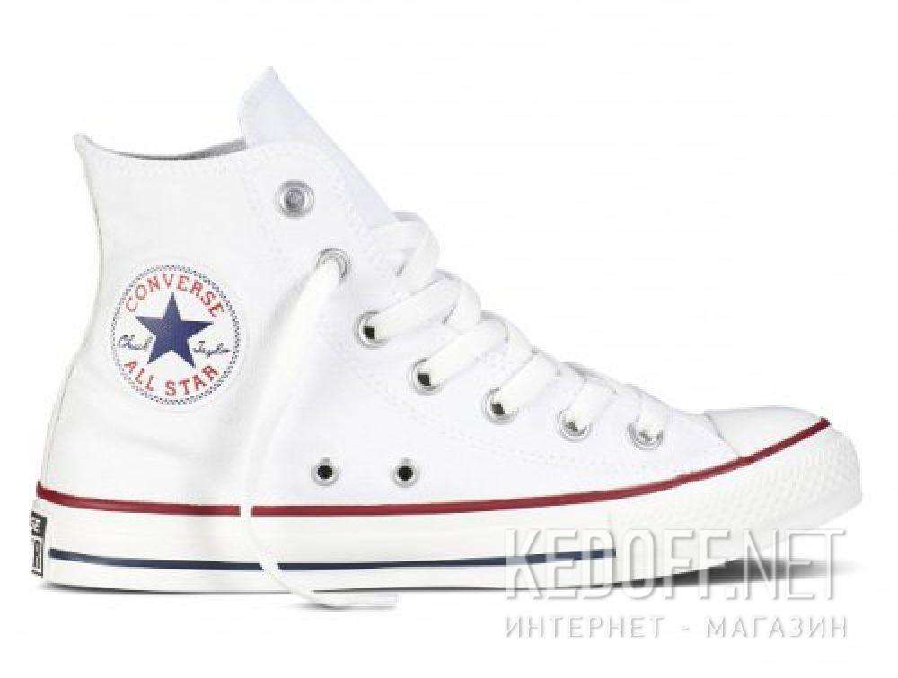 Купить Кеды Converse Chuck Taylor All Star Hi Optical White M7650 унисекс   (белый)