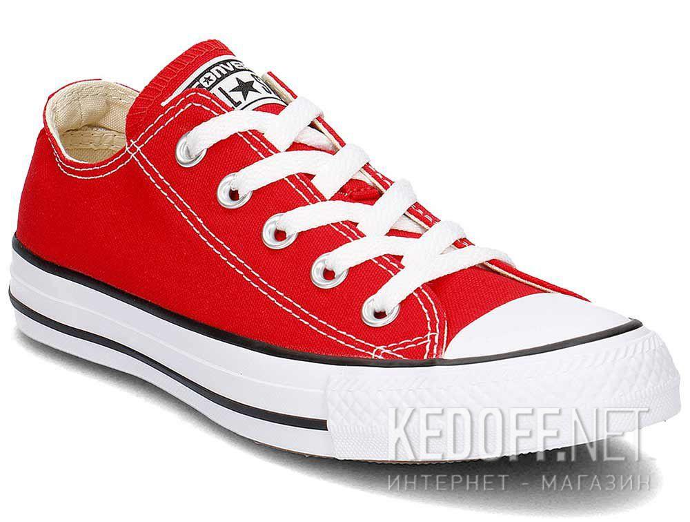 Купить Кеды Converse Chuck Taylor All Star Ox M9696C унисекс   (красный)