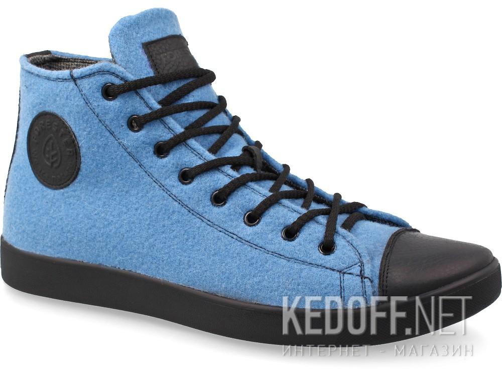 Мужские кеды Forester 132125-42   (голубой) купить Украина
