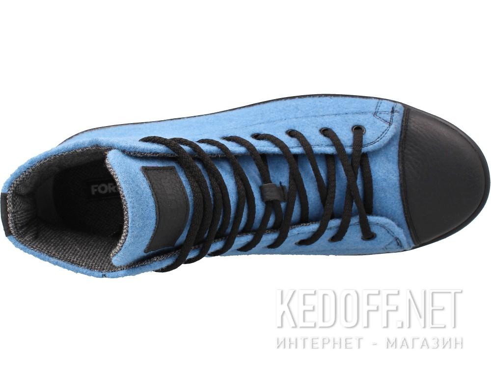 Оригинальные Мужские кеды Forester 132125-42   (голубой)