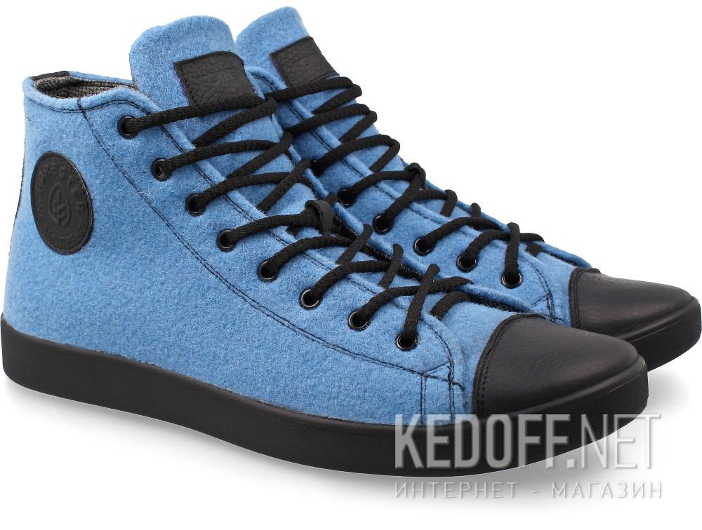Купить Мужские кеды Forester 132125-42   (голубой)