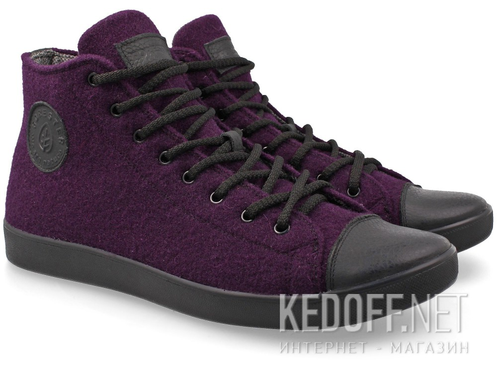 Sneakers Forester Violet Felt 132125-24 Membran Insulated