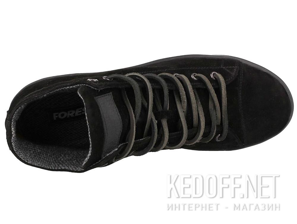 Кеди Forester Mono Black Suede 132125-270 Чорний, Замша