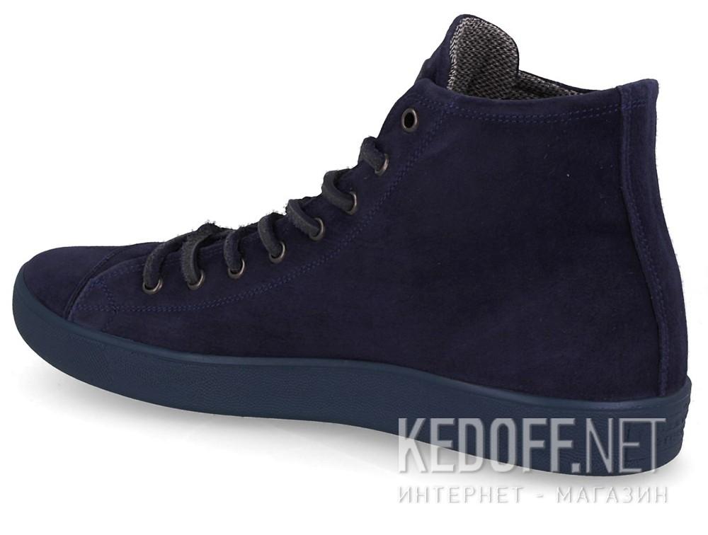 Мужские зимние кеды Forester 132125-890   (тёмно-синий) купить Украина