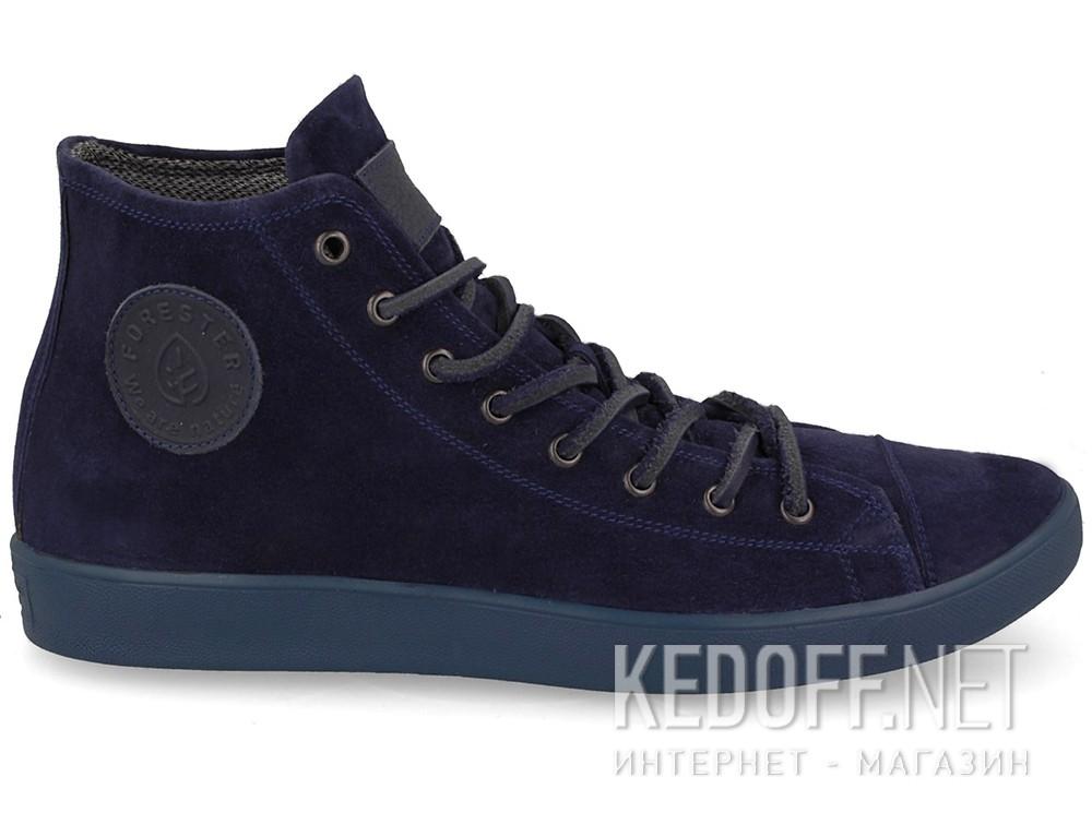 Мужские зимние кеды Forester 132125-890   (тёмно-синий) купить Киев