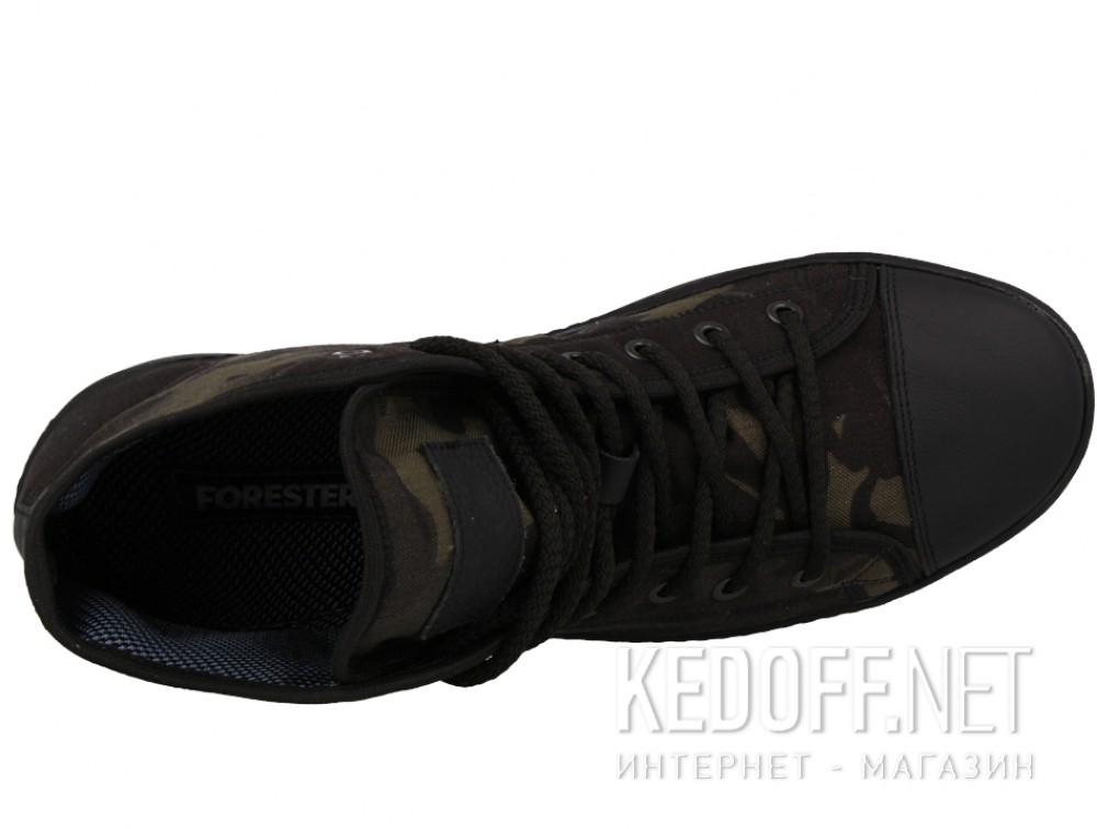 Кеды Forester 132129-2722 унисекс   (зеленый/чёрный) купить Киев