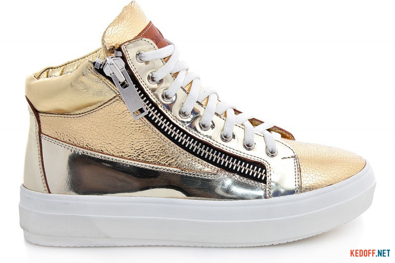 Sneakers Forester Zipper Golden Leather 36431-30238-79
