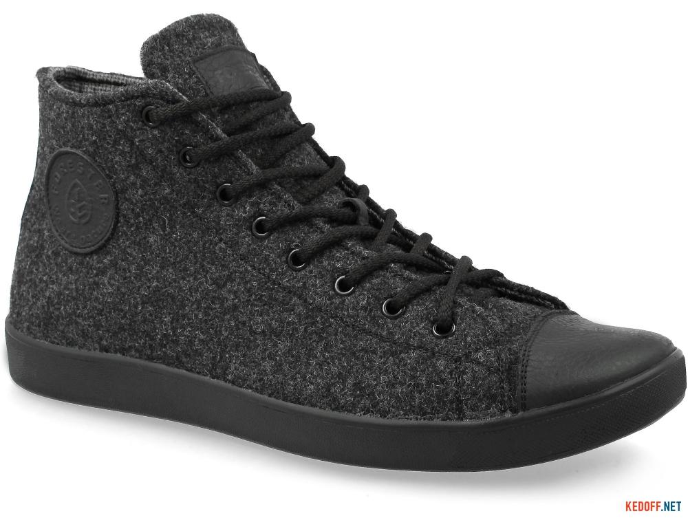 Мужские кеды Forester Dark Grey Wool 132125-39   (тёмно-серый) купить Украина