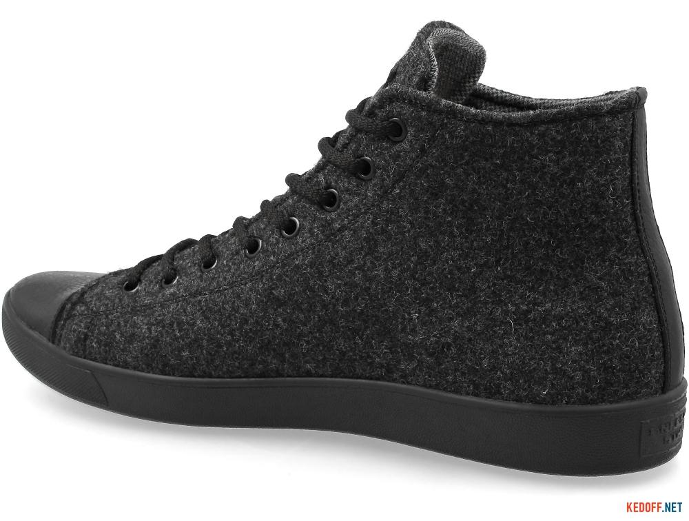 Мужские кеды Forester Dark Grey Wool 132125-39   (тёмно-серый) купить Киев