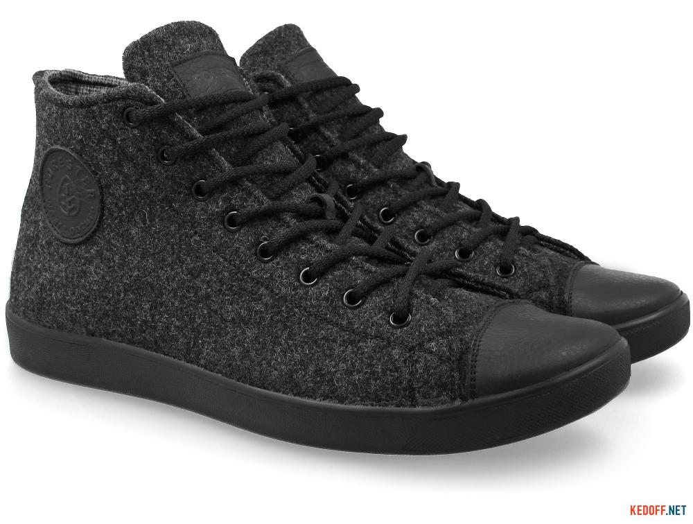 Купить Мужские кеды Forester Dark Grey Wool 132125-39   (тёмно-серый)