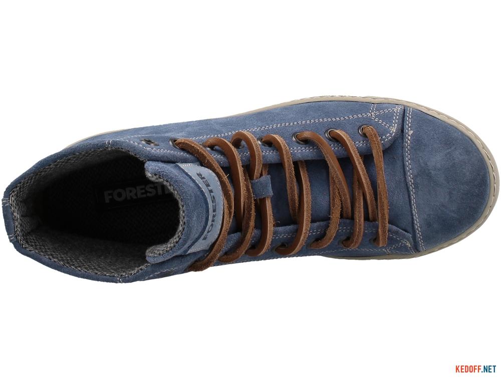 Sneakers Forester Denim Nubuk Velour 132125-140