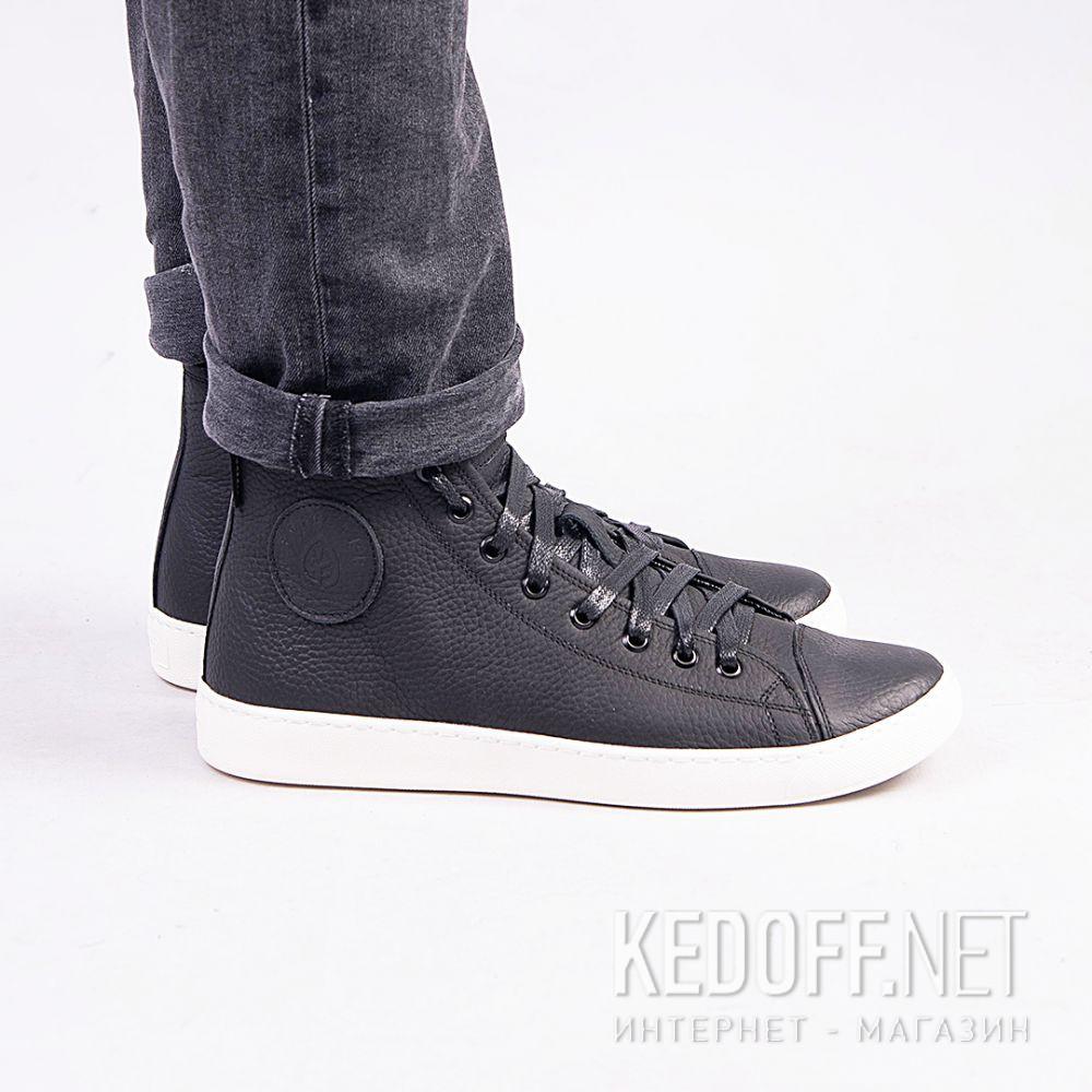 Sneakers Forester Ergolight 132125-27 MB Leather unisex (black) все размеры