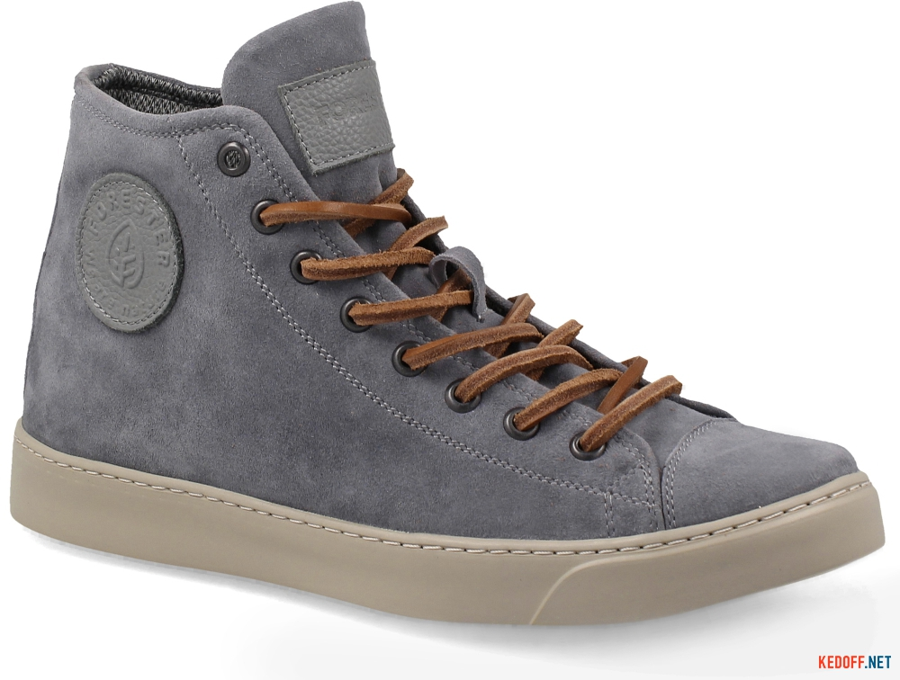 Кеди Forester Grey Suede 132125-137