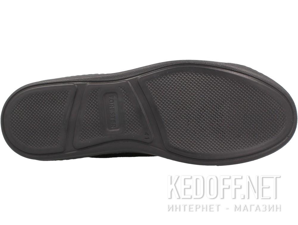 Кеды Forester Mono Black Suede 132125-270 Черный, Замша