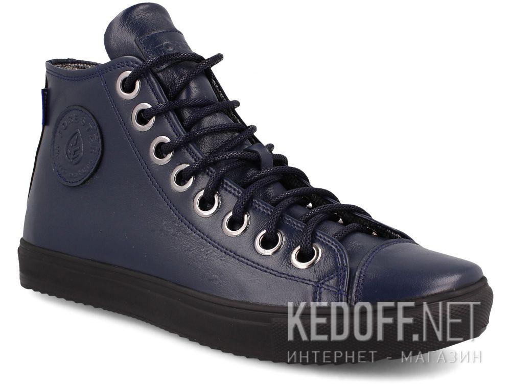 Купить Кеды Forester Mono Navy 132125-189