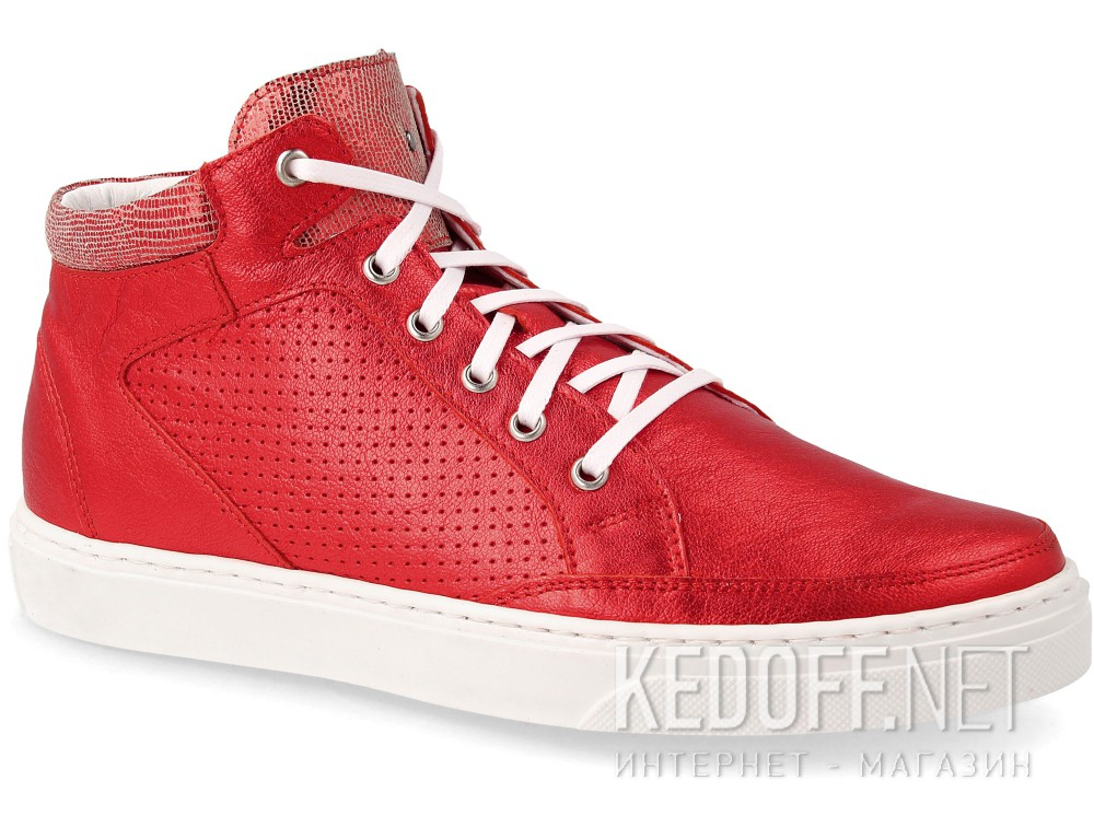 Кеды Forester Red 08-0405-001 Leather