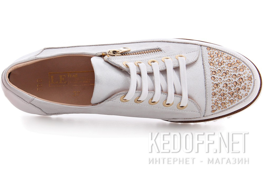 Кеды женские  Las Espadrillas Fashion Zipper 03700-13
