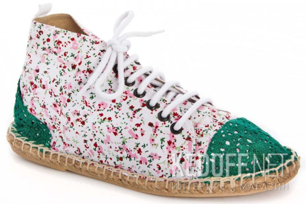 Купить Текстильная обувь Las Espadrillas 1146TP-LB8 унисекс   (multi-color/зеленый)