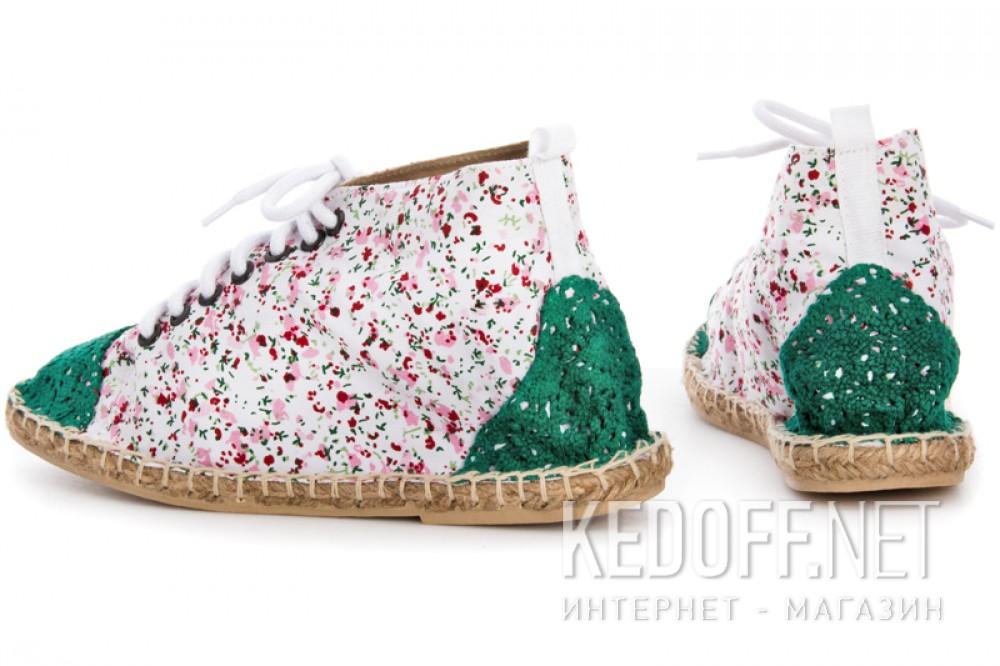 Текстильная обувь Las Espadrillas 1146TP-LB8 унисекс   (multi-color/зеленый) купить Киев