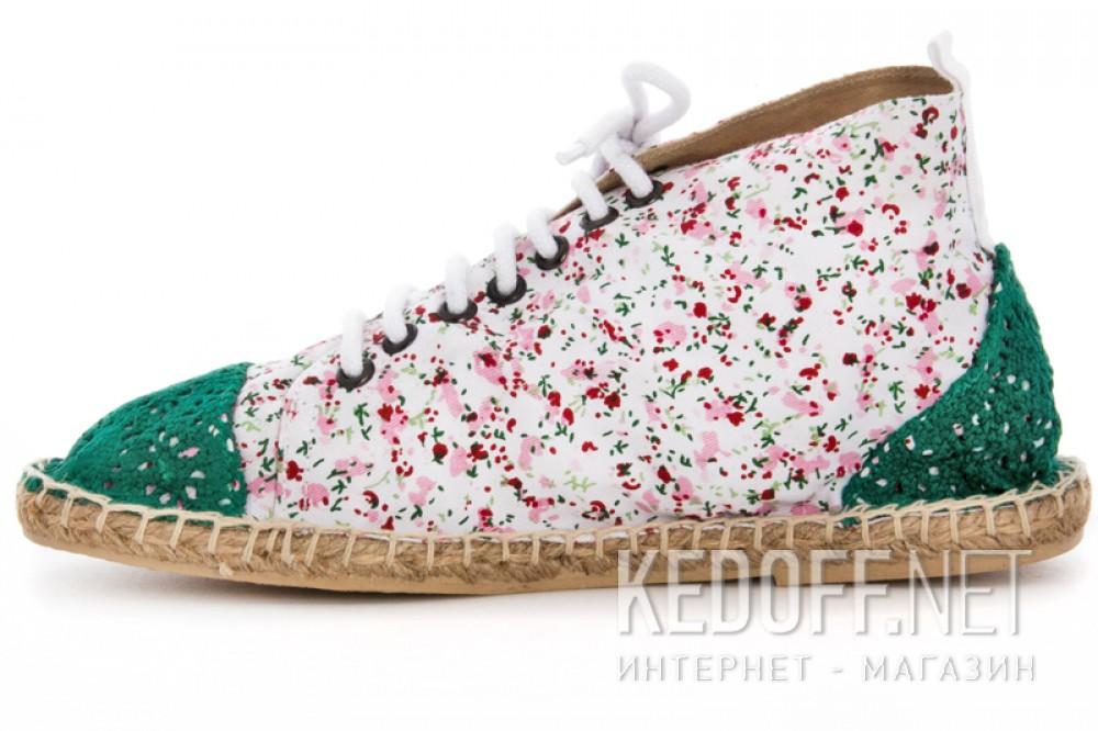 Оригинальные Текстильная обувь Las Espadrillas 1146TP-LB8 унисекс   (multi-color/зеленый)