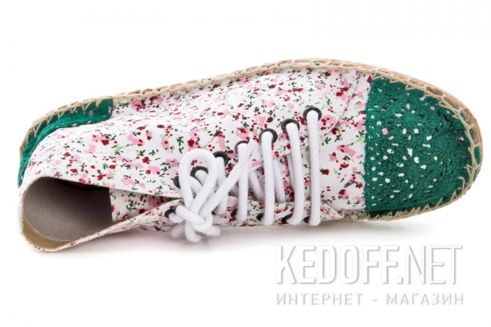 Цены на Текстильная обувь Las Espadrillas 1146TP-LB8 унисекс   (multi-color/зеленый)