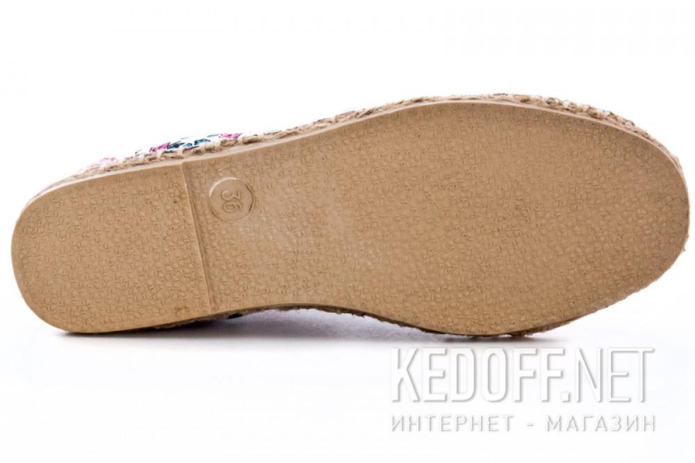 Текстильная обувь Las Espadrillas 1146TP-LB8 унисекс   (multi-color/зеленый) все размеры
