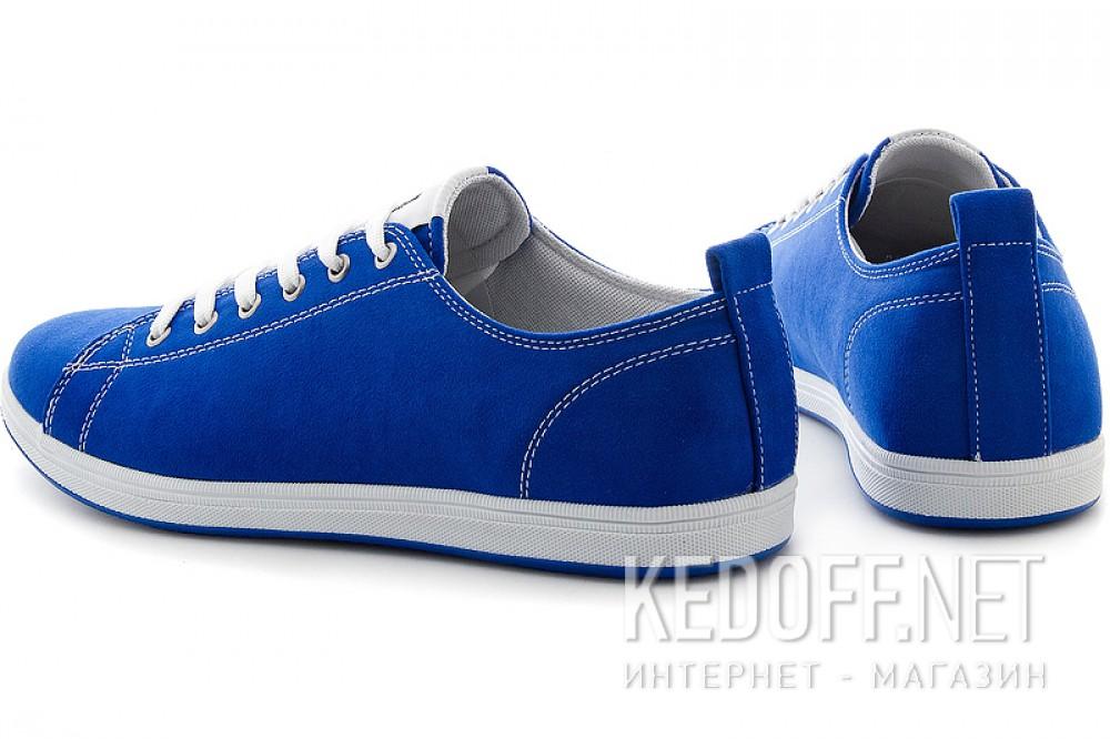Текстильная обувь Las Espadrillas 15018-42 унисекс   (синий) купить Украина